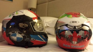 Dans Helmets for the TT and NW200-BMW